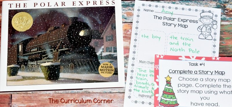 FREE The Polar Express Literacy Center Activities 3