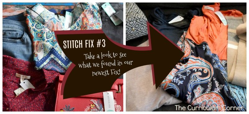 We are taking a break from creating resources for our newest Stitch Fix unboxing. Just a little something fun!