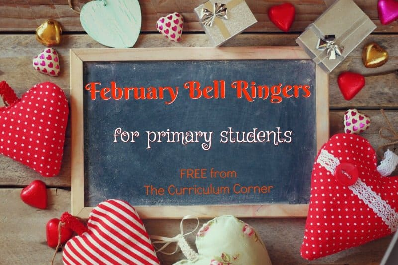 This collection of February bellringer questions has been created to help you continue a simple but engaging morning routine.