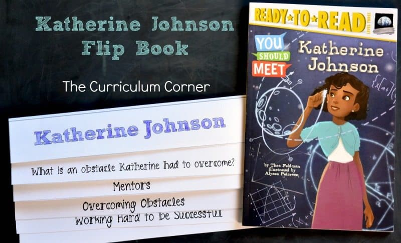 FREE Katherine Johnson Book Study Resources from The Curriculum Corner 2