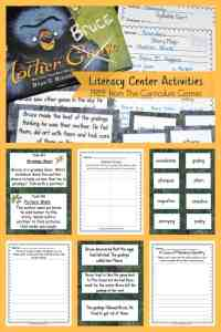 Free Mother Bruce Literacy Center Activities from The Curriculum Corner 2