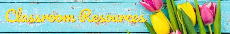 FREE April resources from The Curriculum Corner