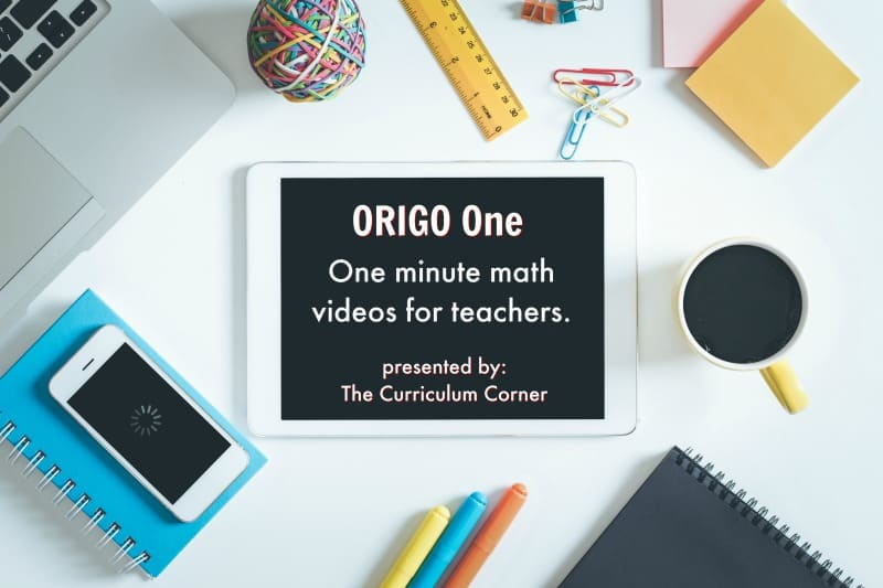 Origo One Minute Videos for Math Instruction presented by The Curriculum Corner