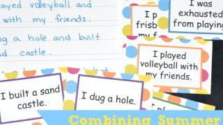 Writing Center: Combining Summer Sentences