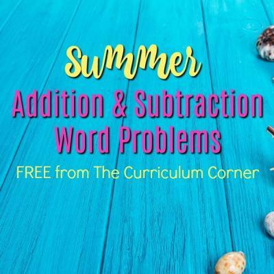 Summer Problem Solving (2nd Grade)