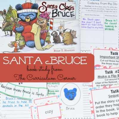 Book Study & GIVEAWAY: Santa Bruce