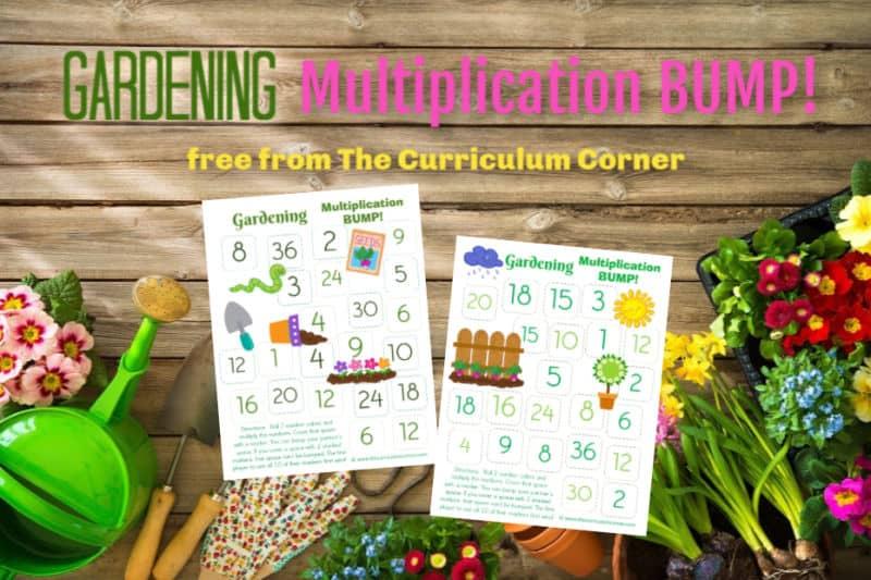 Gardening Multiplication BUMP!