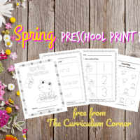Spring Preschool Pages