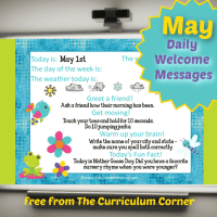 May Daily Welcome Messages