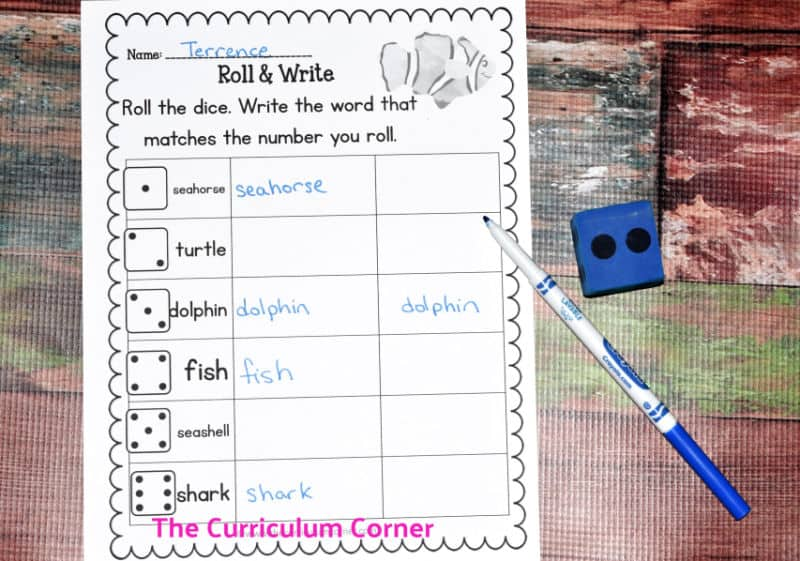 Ocean Literacy Set - The Curriculum Corner 123