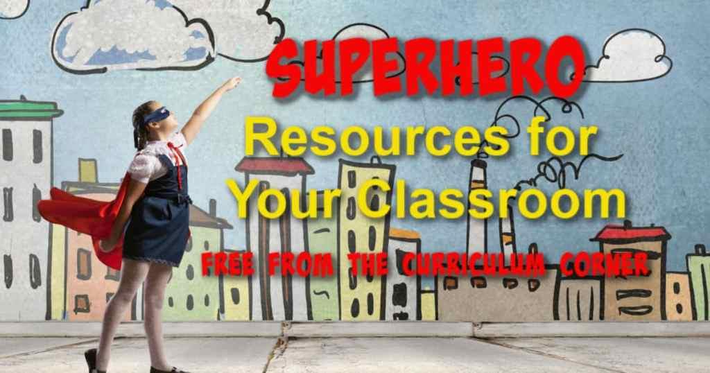 Superhero Resource Collection