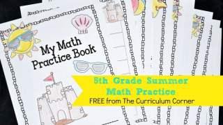 5th Grade Summer Math