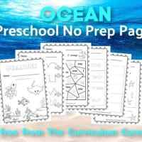 Ocean Print & Go for Preschool