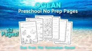 Ocean Print & Go for Preschool