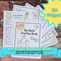 1st Grade Summer Math Practice Booklet