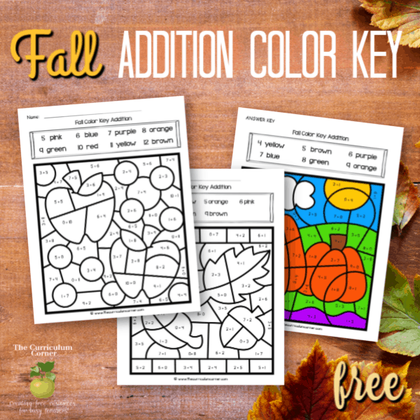 Fall Color Key Addition