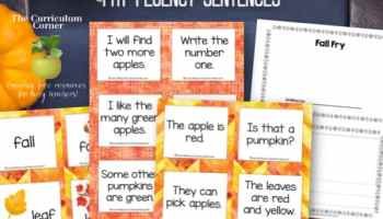 Fry Fluency Sentence Resources - The Curriculum Corner 123
