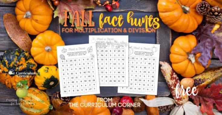 Fall Fact Hunts
