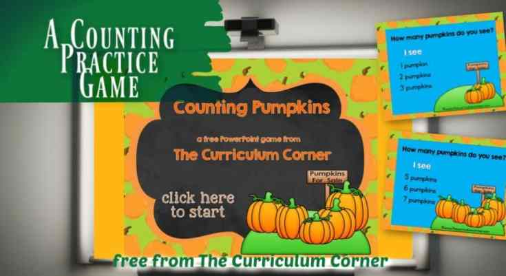 Counting Pumpkins Game