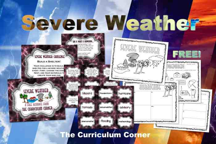 Severe Weather Unit of Study