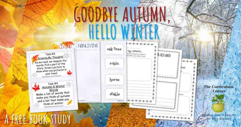 Book Study: Goodbye Autumn, Hello Winter