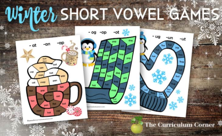 winter short vowel games