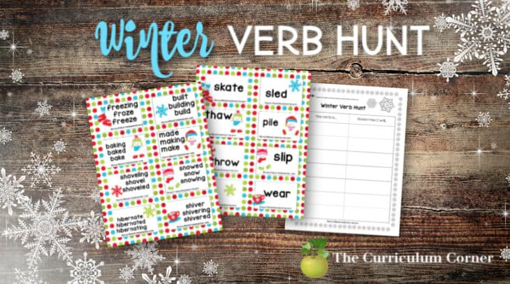 winter verb hunt