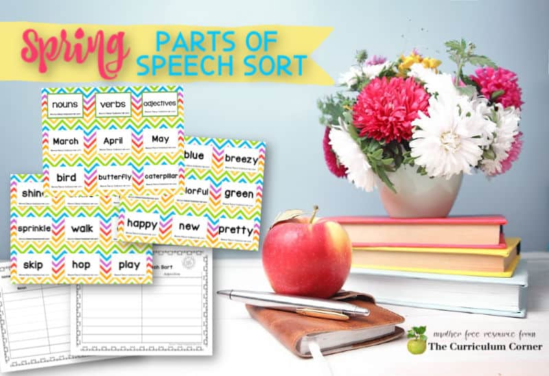 spring parts of speech