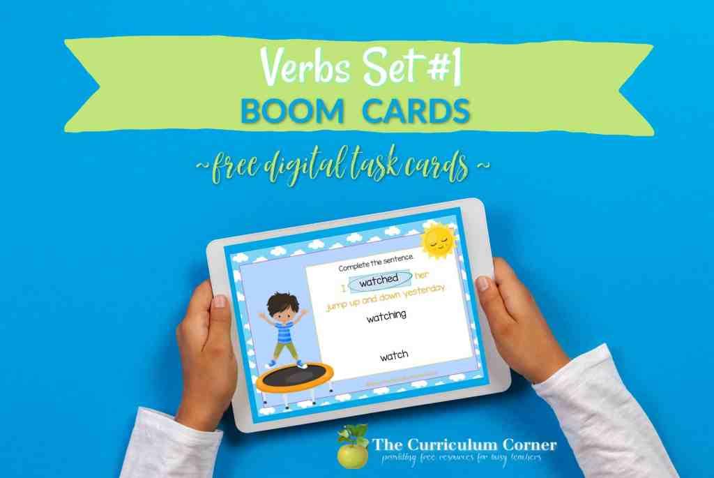 Verb Boom Cards