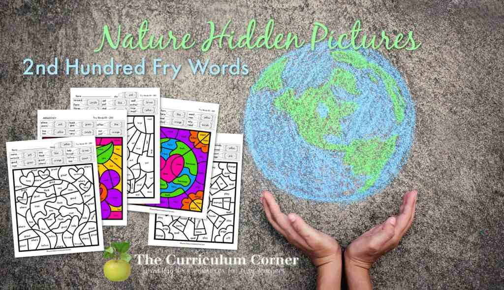 Nature Fry Word Hidden Pictures