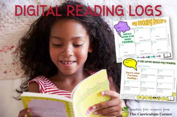 Use these digital reading logs during your time of distance teaching to help check in our the readers in your classroom.
