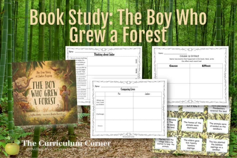 This study will help you in organizing centers to accompany The Boy Who Grew a Forest: The True Story of Jadav Payeng.