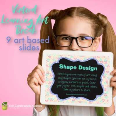 Virtual Learning Art Break