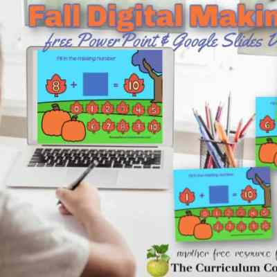 Fall Making 10 Digital Game