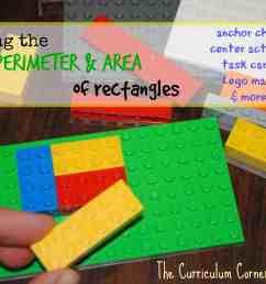 Perimeter and Area of Rectangles - The Curriculum Corner 4-5-6 [ 2217 x 3311 Pixel ]