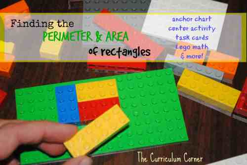 small resolution of Perimeter and Area of Rectangles - The Curriculum Corner 4-5-6