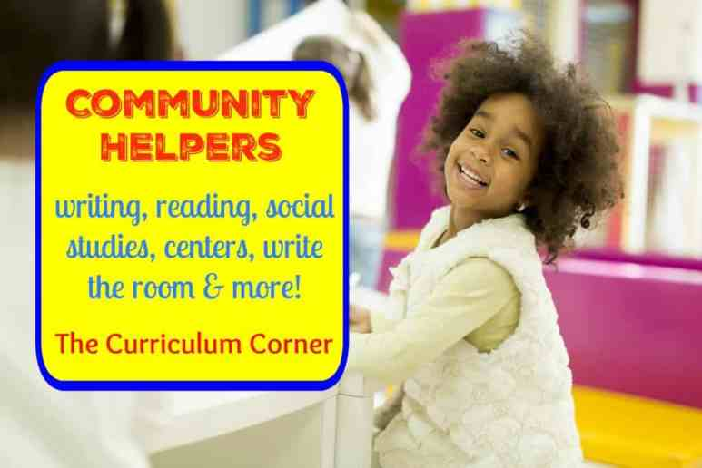 FREE! Community Helpers collection from The Curriculum Corner - emergent readers, write the room & more!