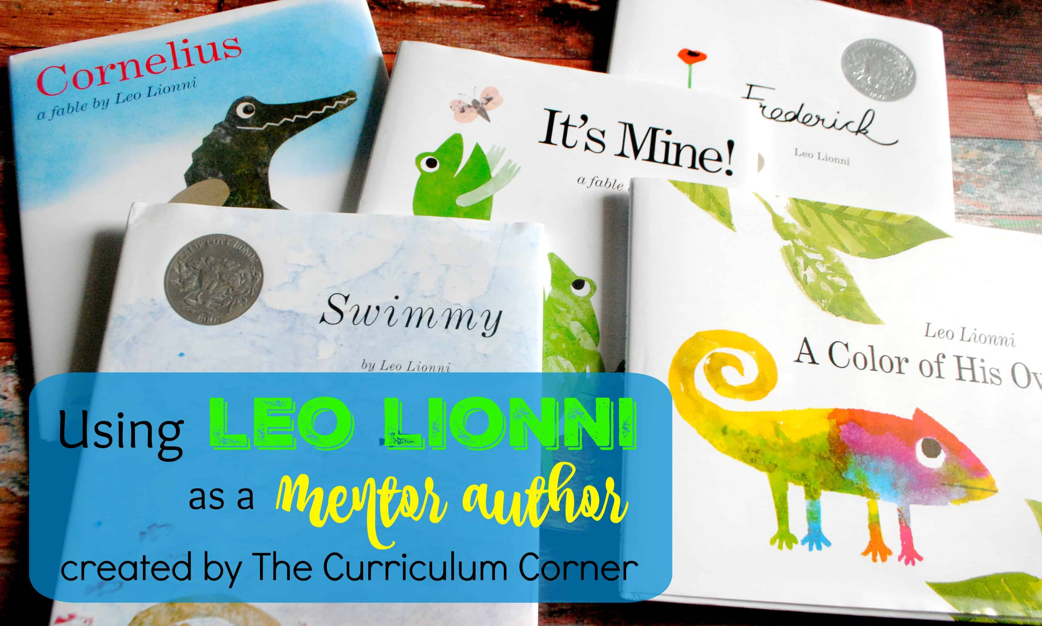 It's Mine!: Leo Lionni Author Study | DonorsChoose.org ...