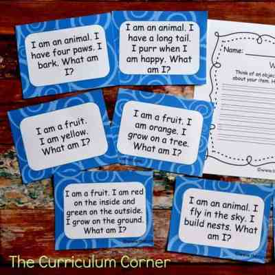 Riddle Task Cards (Inferencing)
