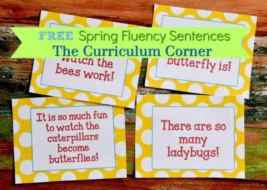 Spring Math Centers | Spring Literacy Centers