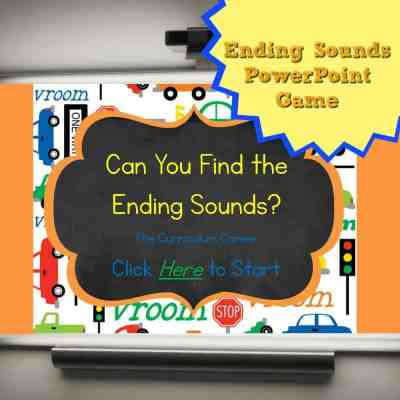 Ending Sounds PowerPoint Game