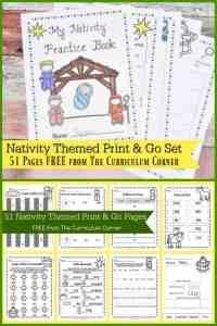 Nativity Themed Printables