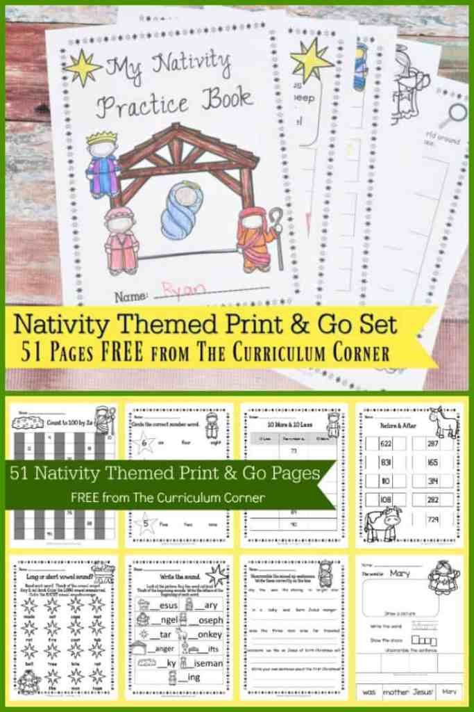 Nativity Themed Printables