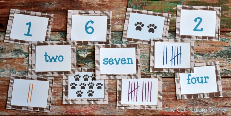 FREE Teddy Bear Math & Literacy Centers 2
