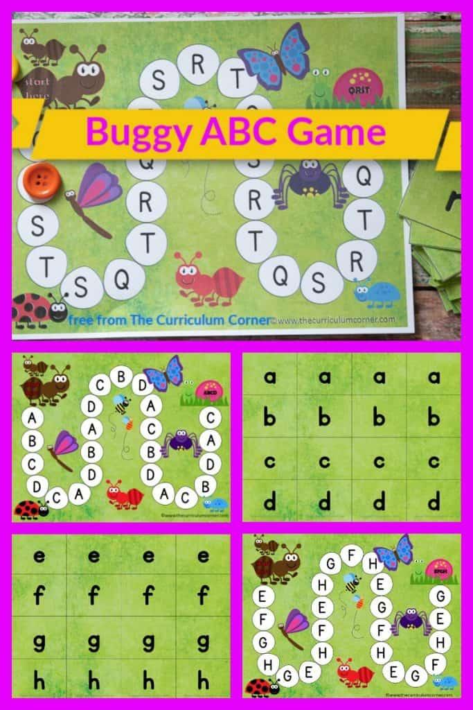 Bugs Alphabet Game
