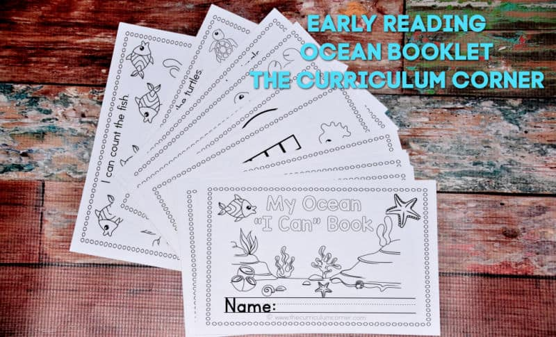 Ocean Early Reader Booklet