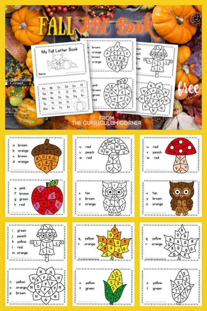 Fall ABC Book