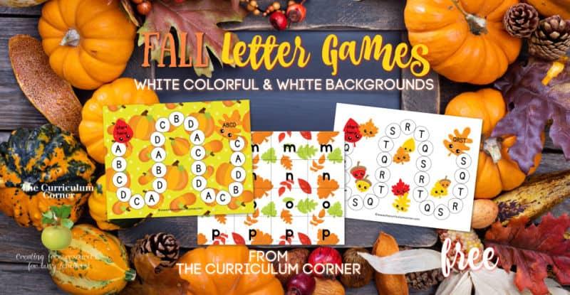 Fall ABC Game
