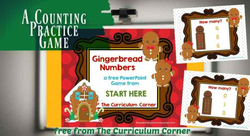 gingerbread counting