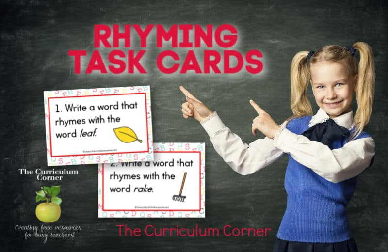 Rhyming Word Task Cards